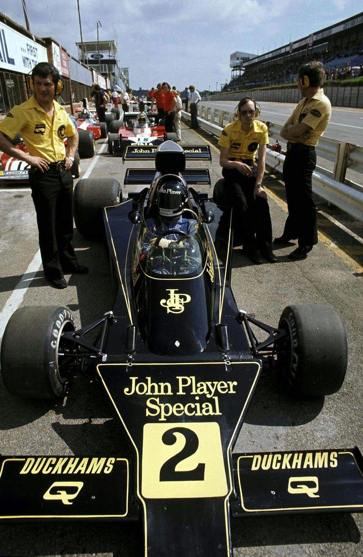 Spark 1 43 john player spl lotus 72d 5 winner spain 1972 world champ - Jacky Ickx Bel Lotus 76 Kyalami 1974