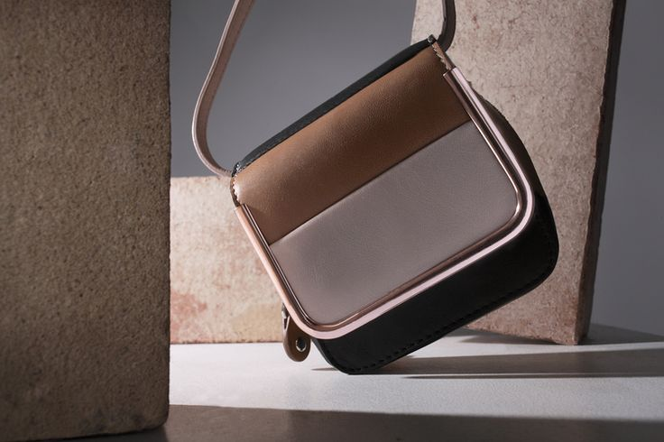 Carven Striped Mini Saint Sulpice bag  Photography by  Tom Hartford   Styling by  Alex Petsetakis