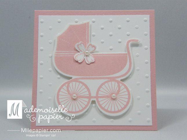 Lot de 10 Mini cartes Bébé fille par MllePapier sur Etsy, $19,00