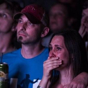 The Tragically Hip's last song rings out across Canada.  Thousands of fans from Halifax to Vancouver sang the Tragically Hip's last song, 'Ahead By A Century.'