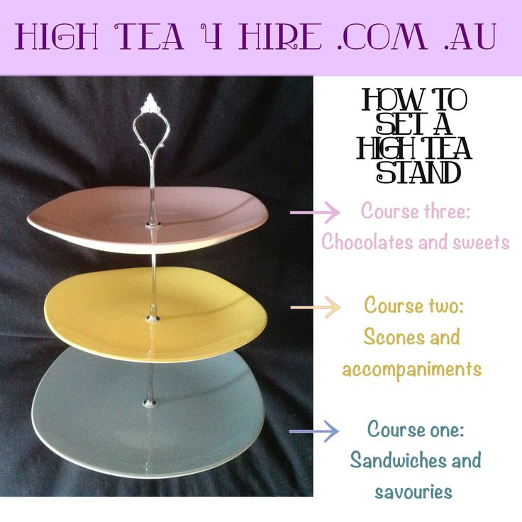 How to set a high tea stand.  We have 20+ high tea stands to choose from.  Call today to rent your favourites.  High Tea 4 Hire, Newcastle NSW