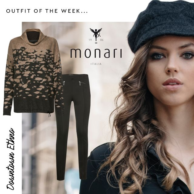 As featured in our style blog the #OOTW comes form the latest collection by @monarifashion shop online at our Lisburn store @lisburn_city