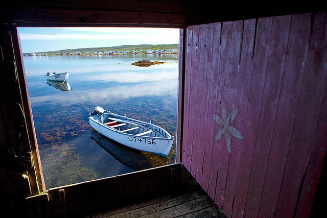 Fish Boats, Joe Batt's Arm, Fogo island