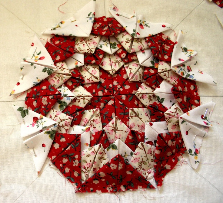 17 Best Images About Folded Amish Star On Pinterest