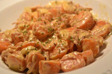 Carottes Crème fraîche paprika cookeo; Une recette cookeo de légumes raoide et facile à réaliser pour un plaisir assuré . N'hésitez pas