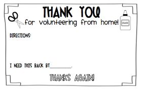 What the Teacher Wants!: BACK-2-SCHOOL {Parent Volunteers}