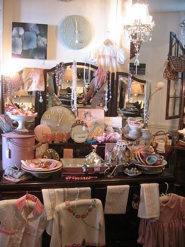 Suzy Cole Shop interior Lyme Regis