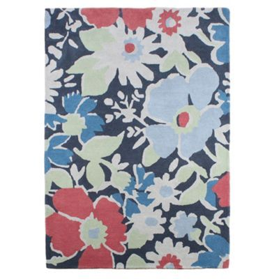 At home with Ashley Thomas Ashley Thomas 'Floral Garden' rug- at Debenhams.com