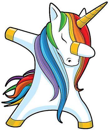 Resultado de imagem para unicorn dab