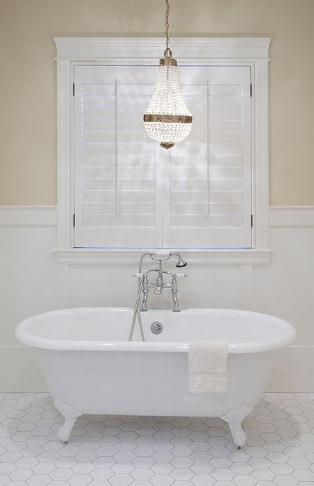 Plantation shutters needed ASAP for the big window over my tub, so no one sees me NEKKID!