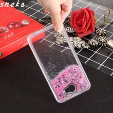 For Huawei Y5 II case Dynamic Liquid Glitter Sand Quicksand Star Cases Crystal Clear phone Back Cover For Huawei Y5 II Y5II Case(China)