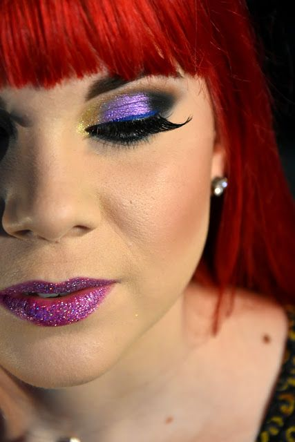 Beauty reviews by Adelina: Un machiaj colorat, pentru zilele gri de iarnă!