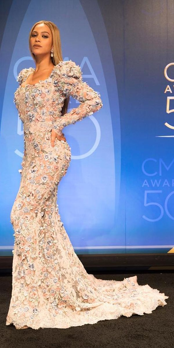 The Hottest Looks from the 2016 CMA Awards Red Carpet - Beyoncé from InStyle.com