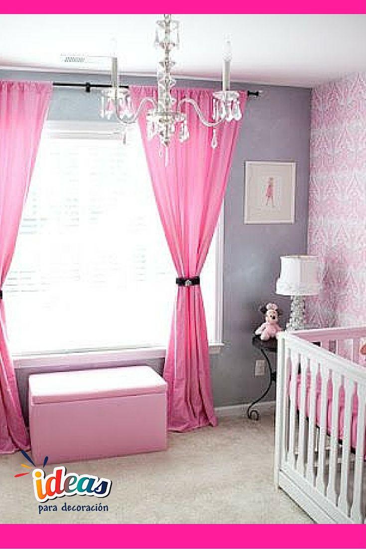 cortinas para el cuarto del bebaprende a