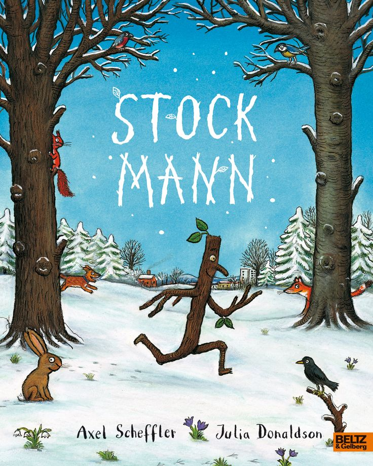 """""""Stockmann"""" nach Axel Scheffler & Julia Donaldson Weihnachten im ZDF und auf DVD bei Concorde Home Entertainment"""