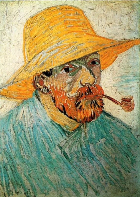 Self Portrait, 1888Vincent van Gogh