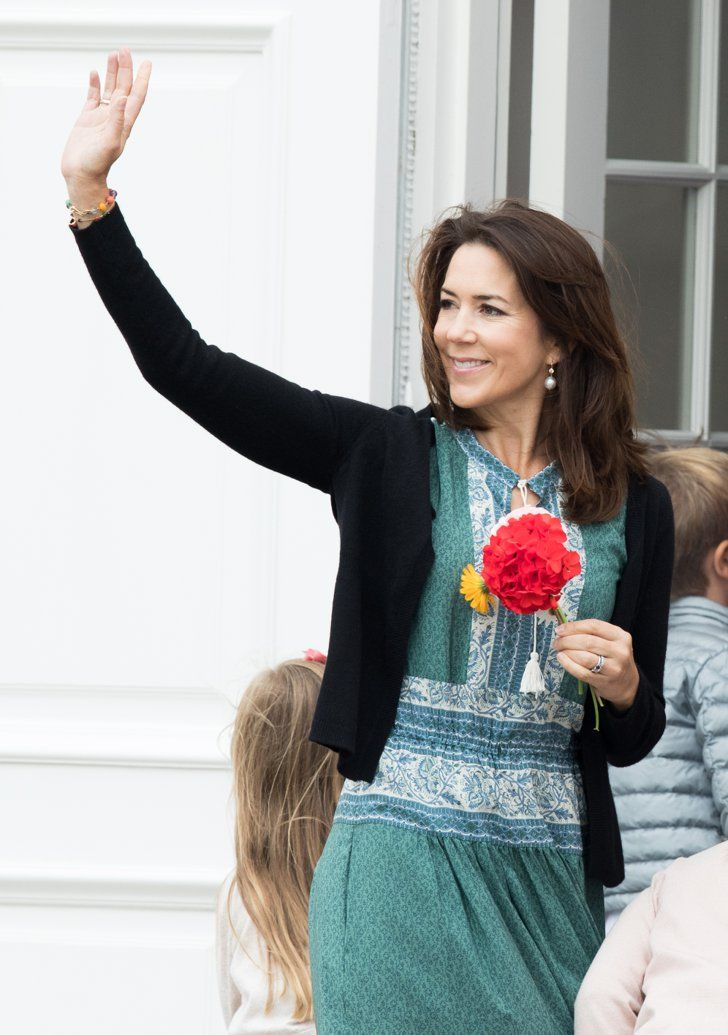 Pin for Later: Princess Mary Ditched the Royal Gown For the Boho Dress of Your Dreams