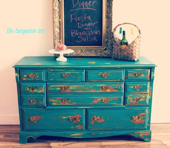 25 Best Ideas About Teal Dresser On Pinterest Teal Painted Dressers Teal Spray Paint And Diy