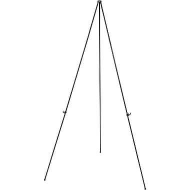 Staples Instant Display Easel With Carrying Case Black Frame