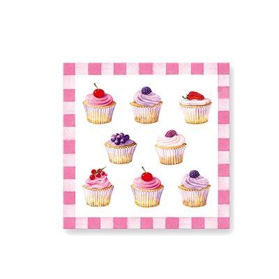 20 Serwetek Nuova R2S Cupcakes