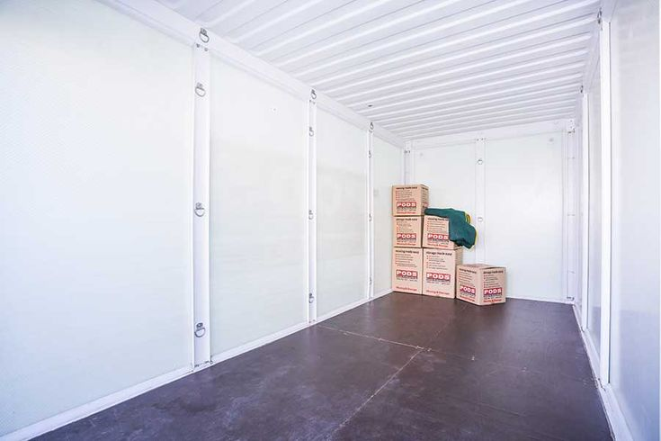 Clean containers with loads of space