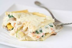 Vegetable Lasagna with White Sauce – IC Friendly Dinner | Interstitial Cystitis Diet