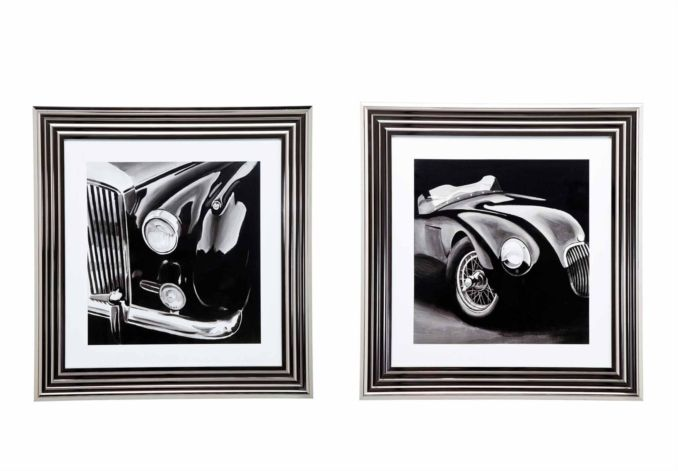 Noble Cars Framed Set - Pictures - Living Room Storage | Bookcases | Furniture Village