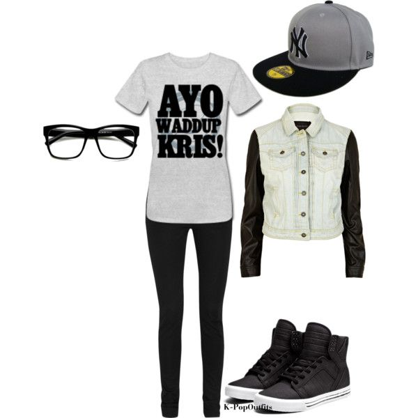 """""""kris outfit"""" by chichi23 on Polyvore"""