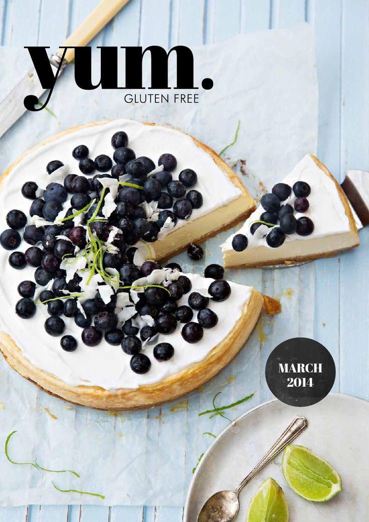 yum. gluten free magazine March 2014