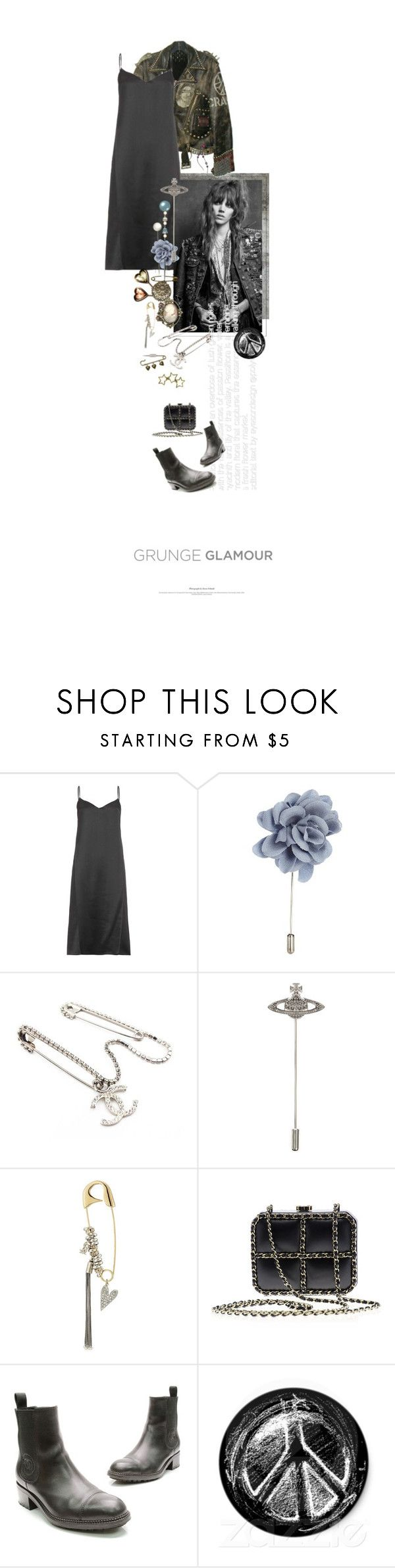 """Sur Sa Veste De Cuir / On His Leather Jacket"" by halfmoonrun ❤ liked on Polyvore featuring WALL, Nina Ricci, Lanvin, Chanel, Vivienne Westwood, Sonia Rykiel, Tiffany & Co. and pins"
