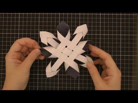 DIY 3D Paper Snowflake (DD Day 22)
