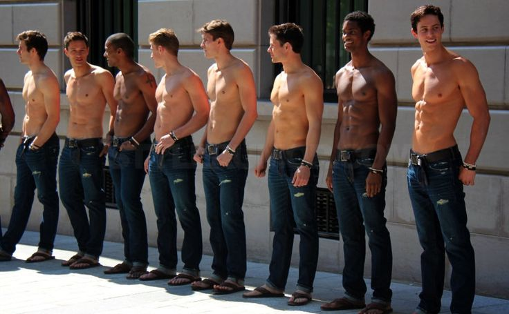For many years the Abercrombie & Fitch male models have been one of the #1 motivations for men's body. Many of you don't know but this include myself. I first started working out when I was at age 15-16. I saw those ripped guys on the cover of shopping bags, stores banners and I just wanted to be like them. Who doesn't?