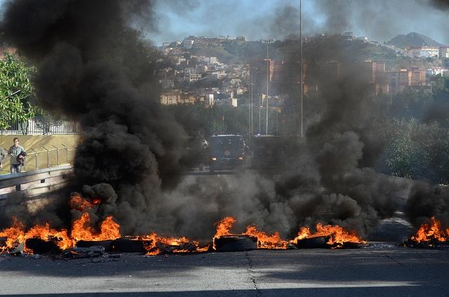 La rivolta del 14 Novembre.