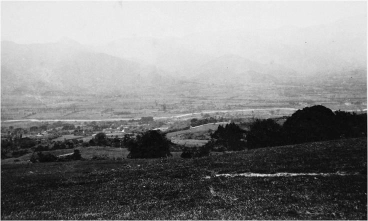 Panorámica de Medellín desde el poblado