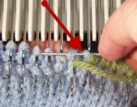 Grafting on the Machine - Knit Side Tutorial For Machine - Single Bed | Machine Knitting Tutorial