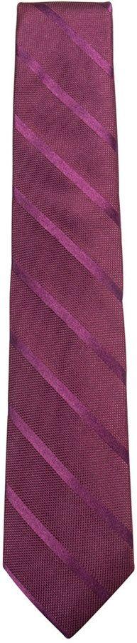 Ryan Seacrest Distinction Men's Fantasia Stripe Silk Tie, Created for Macy's