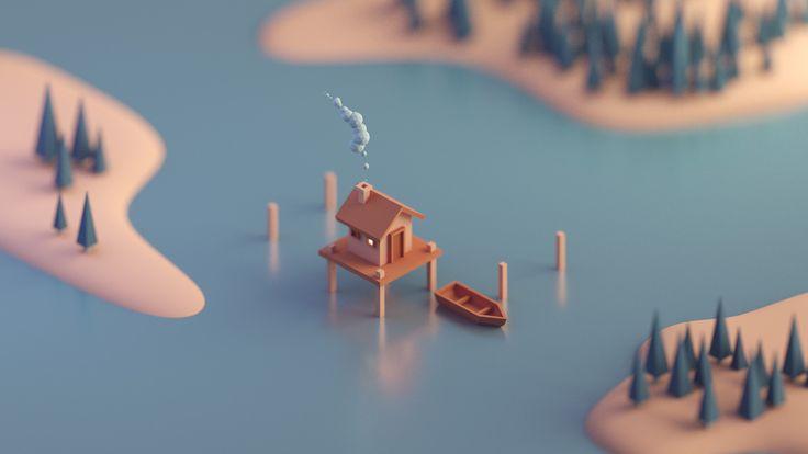Random renders #1, Mohamed Chahin on ArtStation at https://www.artstation.com/artwork/qPEdy