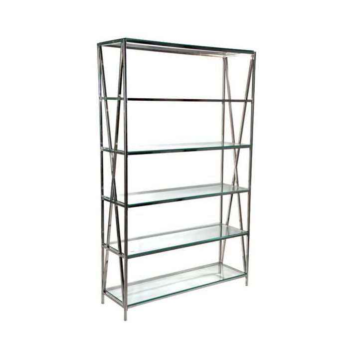 Glass Shelving Unit is a fantastic addition to our glass furniture