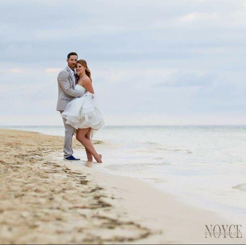 Christine & Patrick - Iberostar Rose Hall Beach - Jamaica  Photos by Noyce Photography