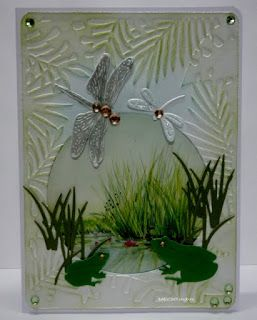 BaRb'n'ShEll Creations - Pond Cards - BaRb