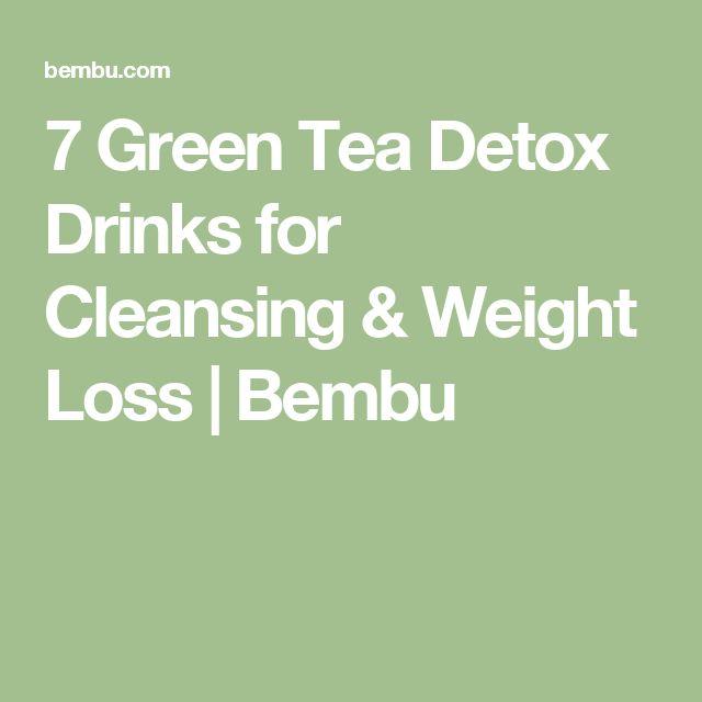 7 Green Tea Detox Drinks for Cleansing & Weight Loss | Bembu