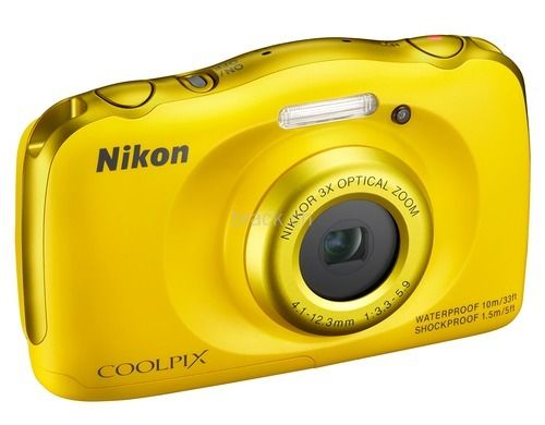 Nikon Coolpix S33 gelb