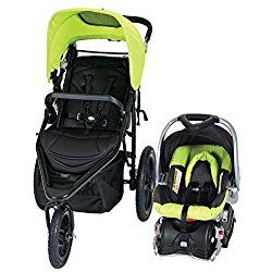 Baby Trend Stealth Jogger Travel System, Willow Green