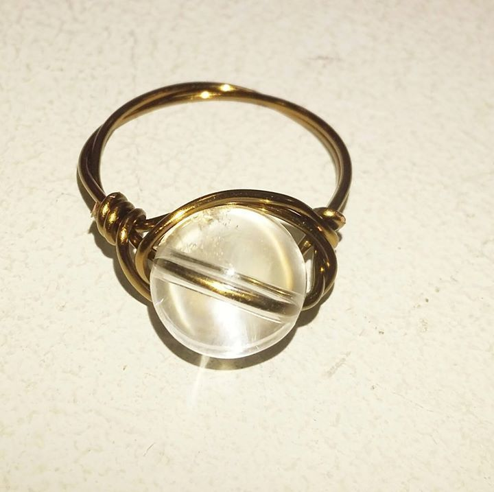 Size Clear Quartz Ring Plus Shipping Payment By CC Via - What is invoice payment plus size online stores