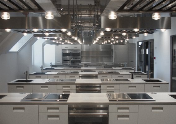 Arclinea Design Cooking School Architizer The Food Shed Pinterest Schools Designs And Cooking