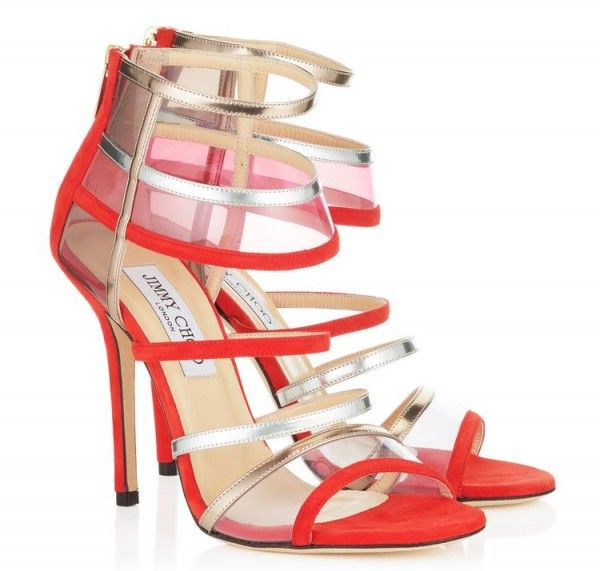 Catalogo Scarpe Jimmy Choo Cruise 2014 FOTO  #jimmychoo #choo #shoes #scarpe #autunnoinverno #autumnwinter #moda2014 #collection #heels #calzature #fashion #sandals #sandali #red