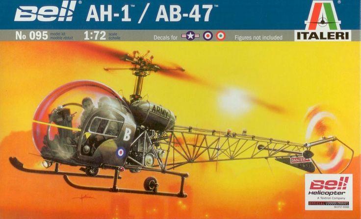 italeri ah-1/ab-47 - Modeledo.pl