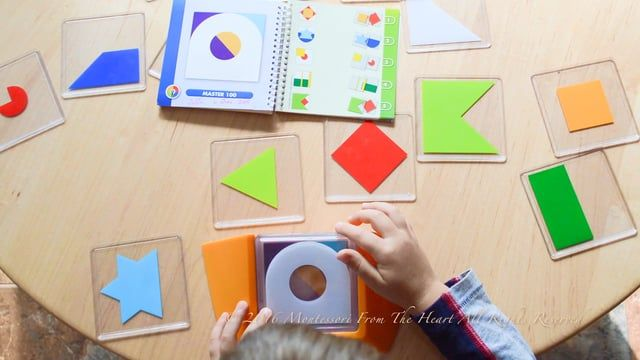 Color Code Logic Puzzle Game (Sensorial 🖐️👀👂👅👃 101 🎥 Series 🎇); See details on my blog http://www.montessorifromtheheart.com/my-blog/2017/06/color-code-logic-puzzle-game-montessori-materials-toys-video-sensorial-101.html