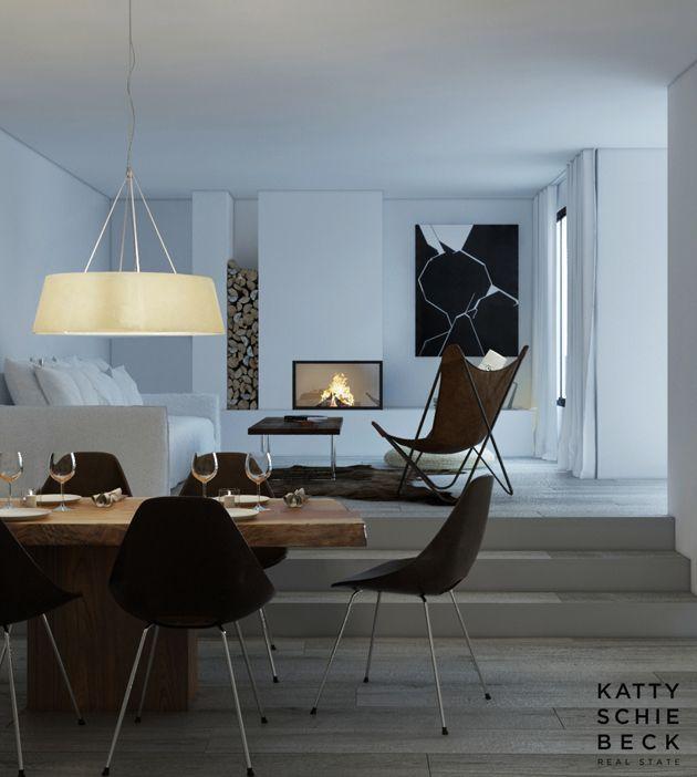 cabbagerose:    penthouse, sant gervasi, barcelona/katty schiebeck  via: somewhereiwouldliketolive