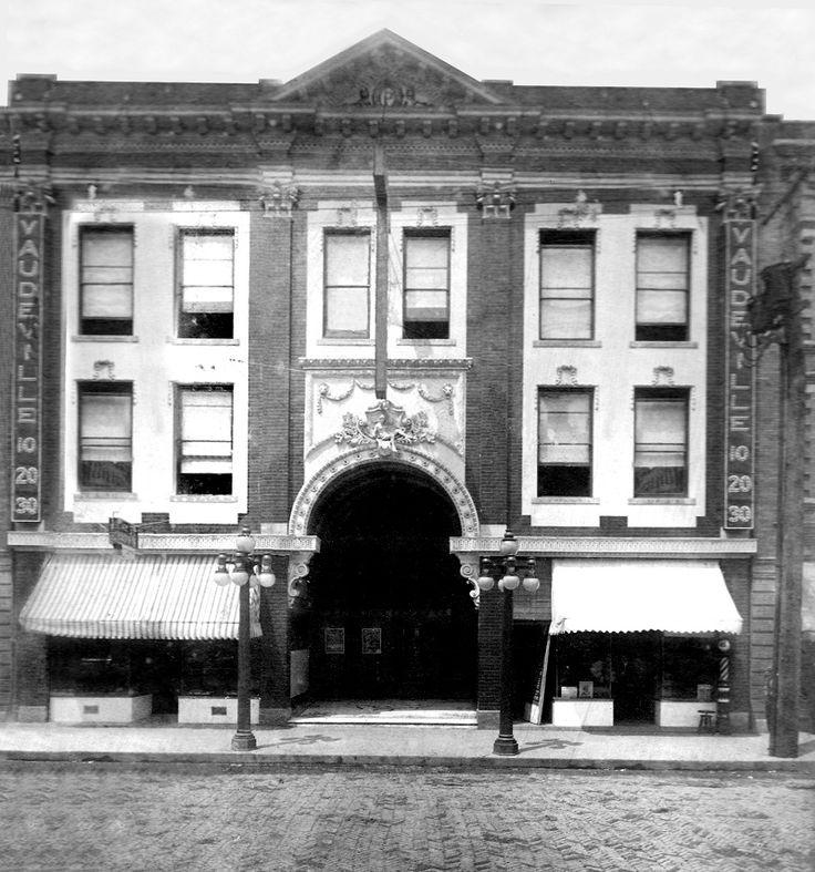 Charleston WV, Plaza Theater around 1915. Located on
